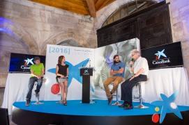 Presentadora de eventos Cristina Ochoa - la Caixa Tudela