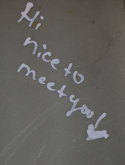 Encantado de conocerte
