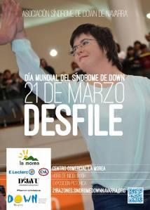Presentadora del Desfile Asociación Síndrome Down Cristina Ochoa