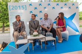 Presentadora de Eventos Cristina Ochoa - La Caixa