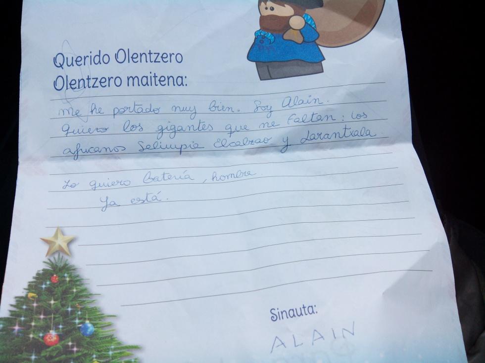 Carta de Alain