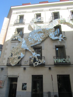 Lagarto al Sol en Madrid