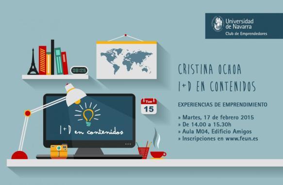 CRISTINA OCHOA charla Club de emprendedores